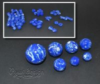blaue-mokumegane