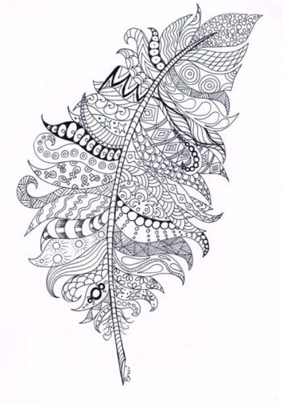Mandala Zentangle Coloring Pages